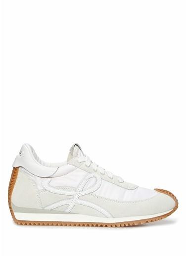 Loewe Loewe  Logolu Kadın Deri Sneaker 101613491 Beyaz